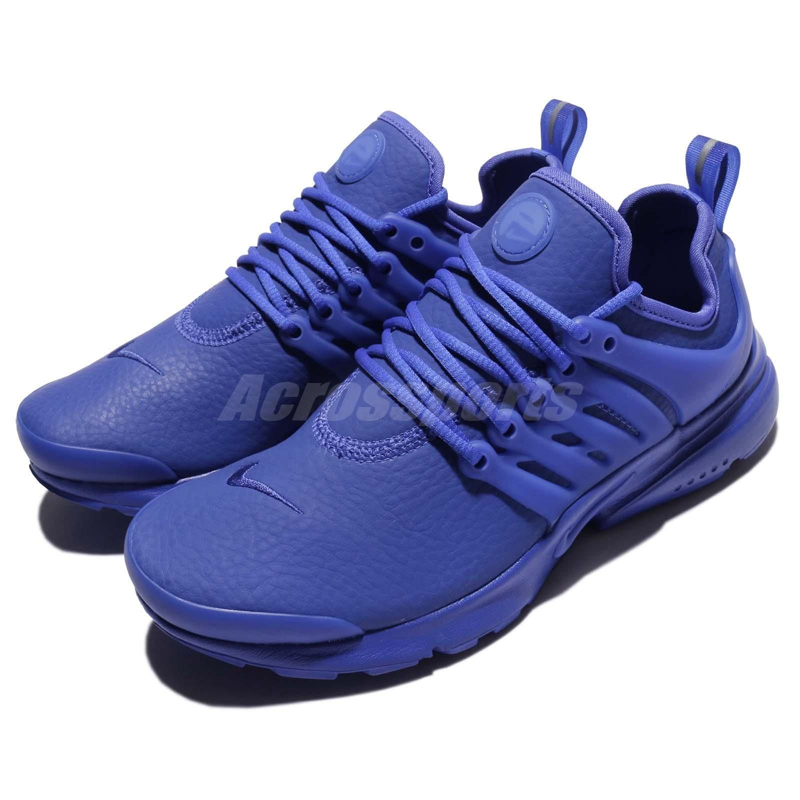 how to buy authorized site check out Wmns Nike Air Presto Prm Triple Paramount Blue Leather Women ...