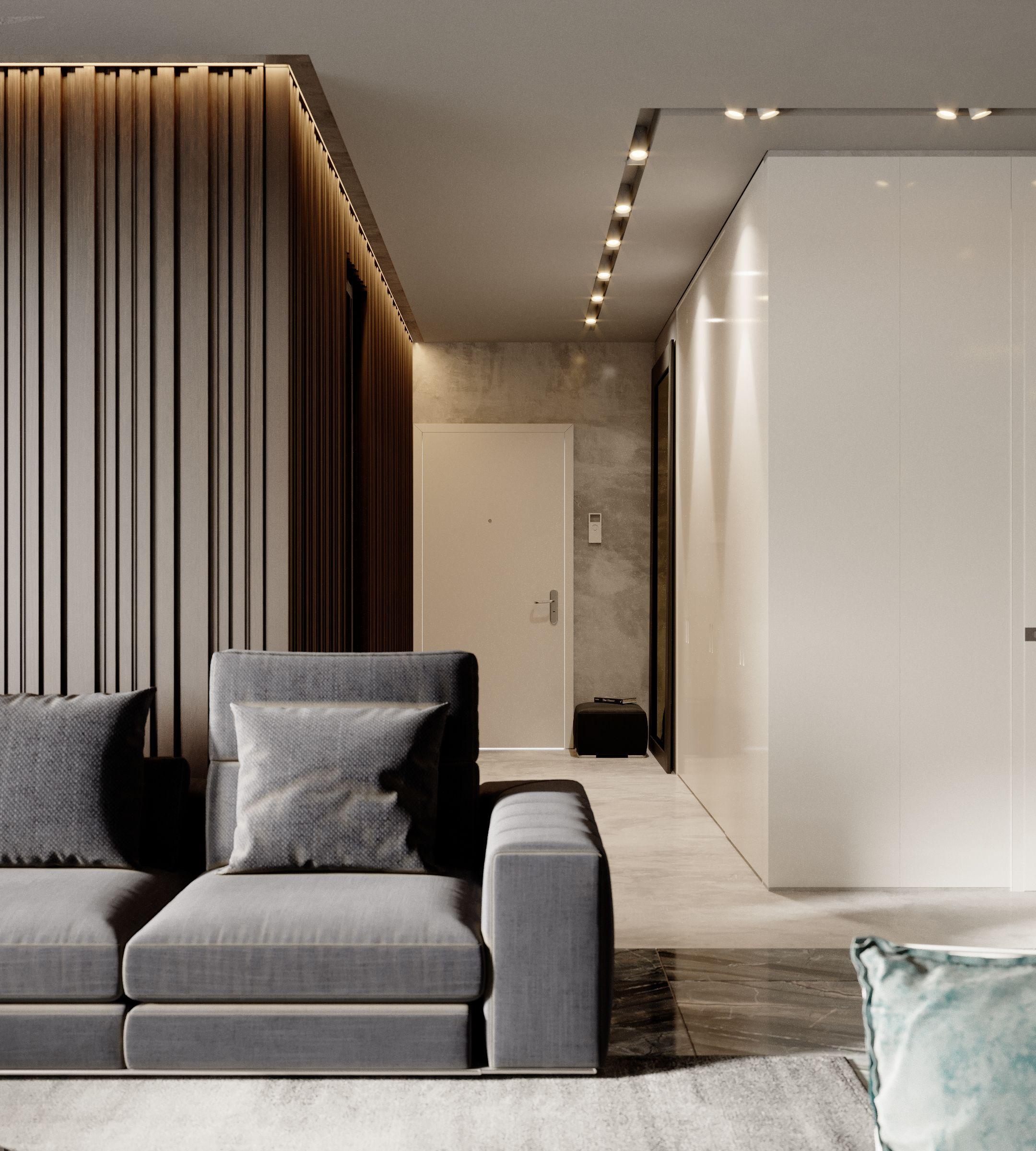 Apartment Lux 018 Lobby Interior Design Lobby Interior Ceiling