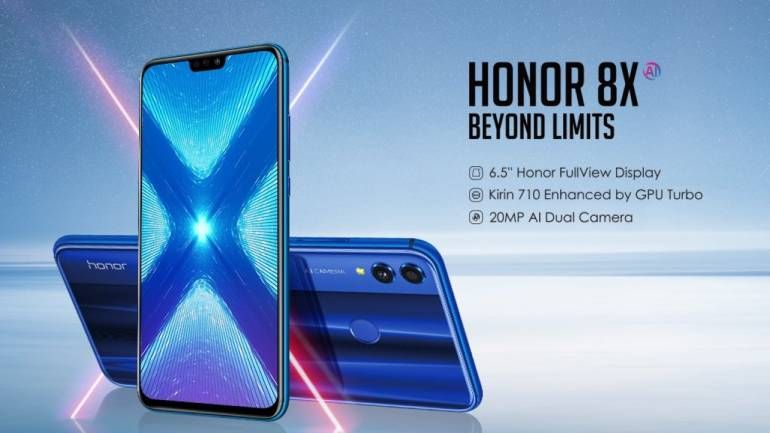 Honor 8X With 20 Mp Dual Camera And 6 5-inch Display Launched