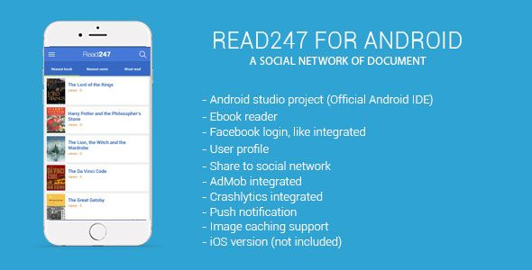 Read247 social network of document (android)