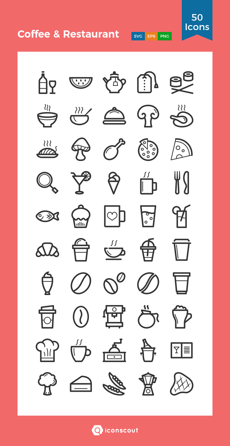 Download Coffee Restaurant Icon Pack Available In Svg Png Eps Ai Icon Fonts Restaurant Icon Coffee Restaurants Coffee Icon