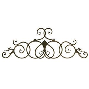 Scroll Metal Wall Art For Above My Bed Outdoor Metal Wall Art