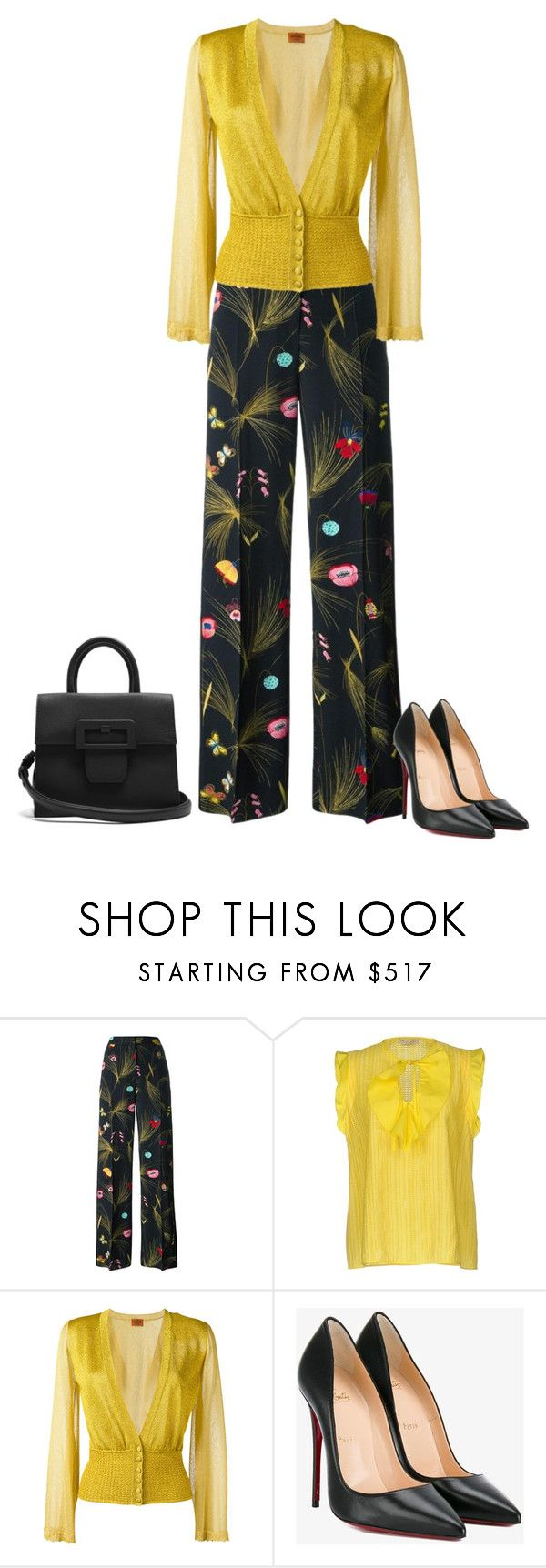 """Untitled #5981"" by lovetodrinktea ❤ liked on Polyvore featuring Fendi, Emilio Pucci, Missoni, Christian Louboutin and Maison Margiela"