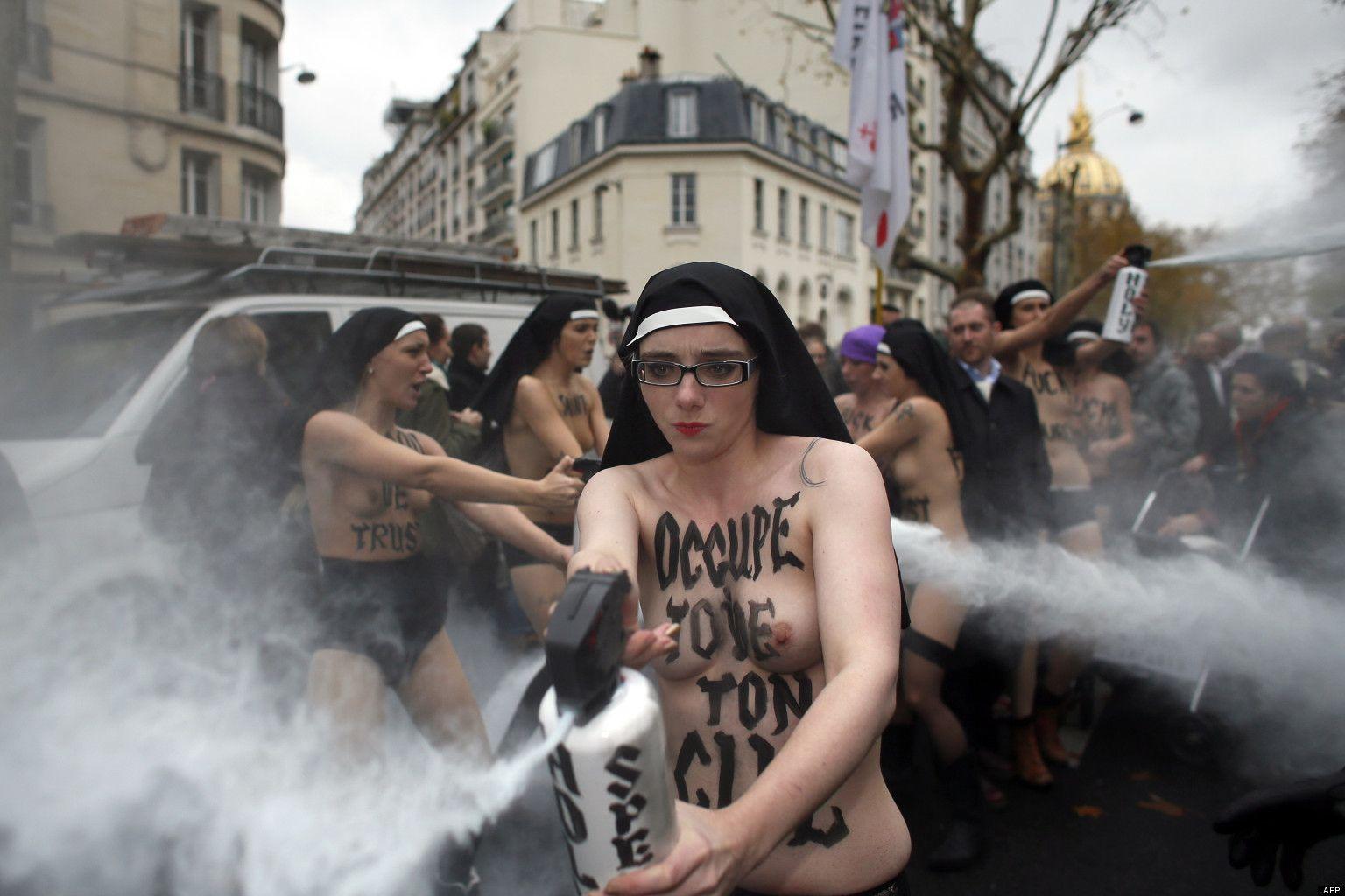 протест на майдане порно актрисы - 13
