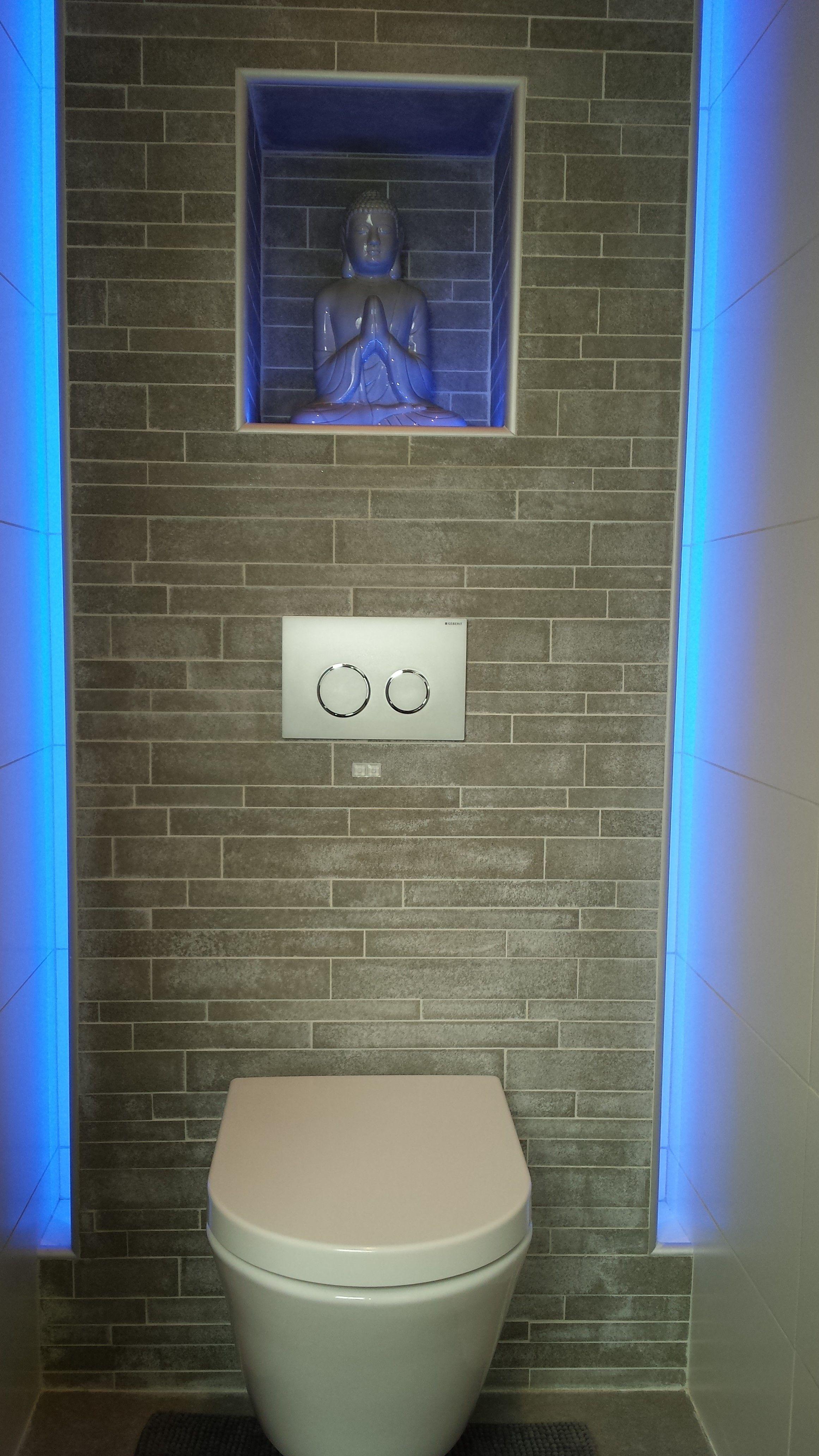 Toilet met nis in achterwand google zoeken toilet pinterest zoeken google en toiletten - Idee tegel douche ...