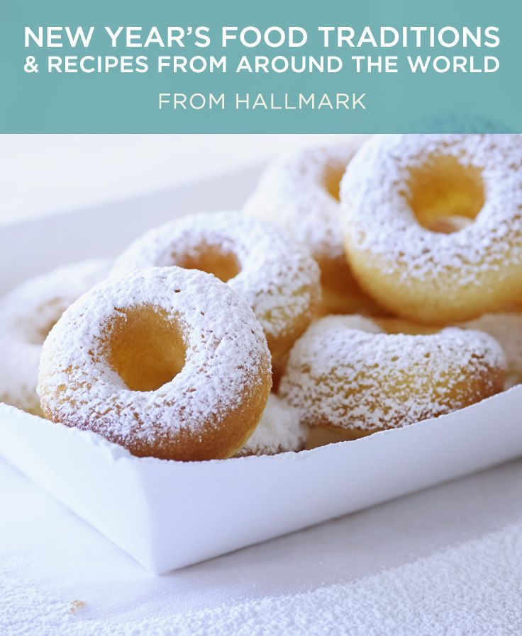New Year's Food Traditions | Ring in the new year with our ...