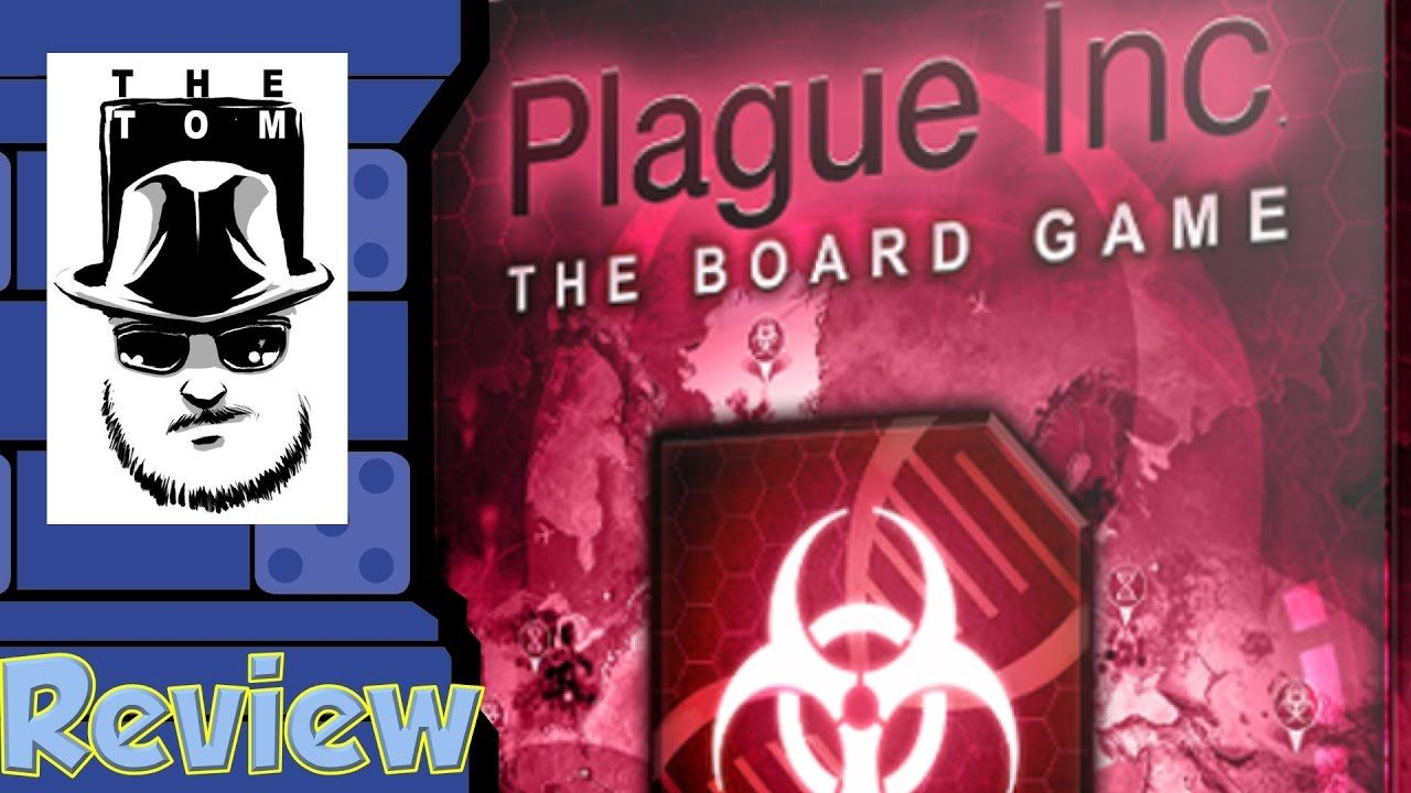 Plague Inc The Board Game Review with Tom Vasel Game