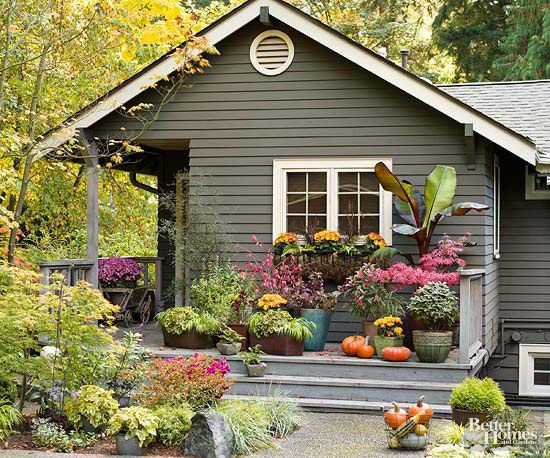 curb appeal ideas cheap before and after uk landscaping for ranch style homes wraparound deck high impact containers