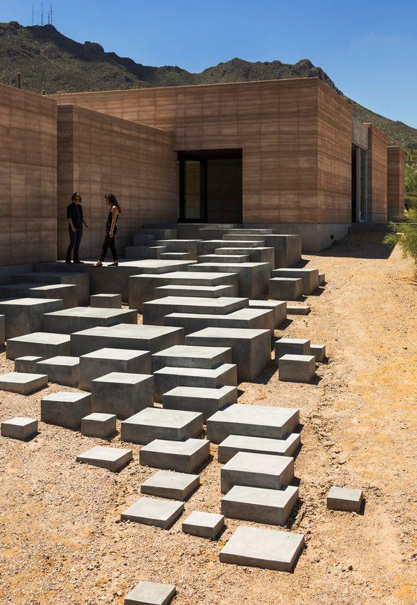 Tucson Mountain Retreat by Dust P2-prospect +refuge Pinterest - Comment Faire Terrasse Beton
