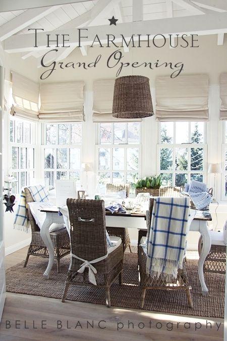 Window Treatment Beauty Bauernhaus Esszimmer Gemütliches Wohnen Style At Home
