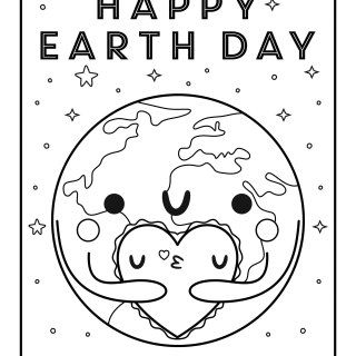 Were Celebrating The Planet Today With This Free Printable Earth Day Coloring Page Print Yours And Have Your Child Create A Fridge Worthy Masterpiece