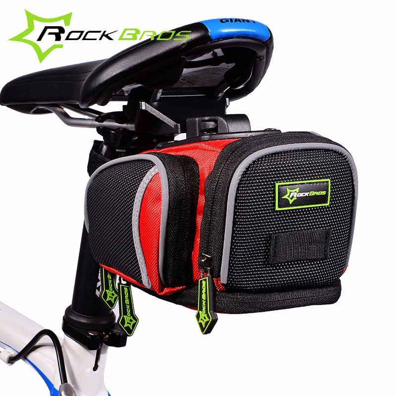 Bag For Bike Bicycle Cycling Back Seat Post Saddle Bags Pouch Rear Package MTB