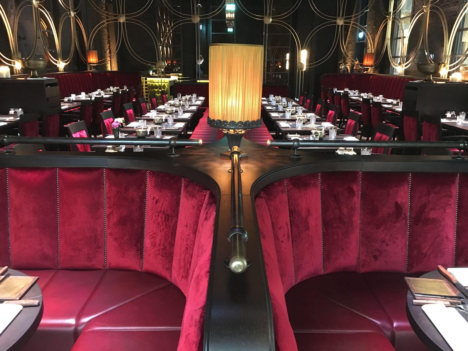 """Einzigartig Möble Dekoration Von #restaurant # Hohoffs 800° """"the Golden Cage"""""""