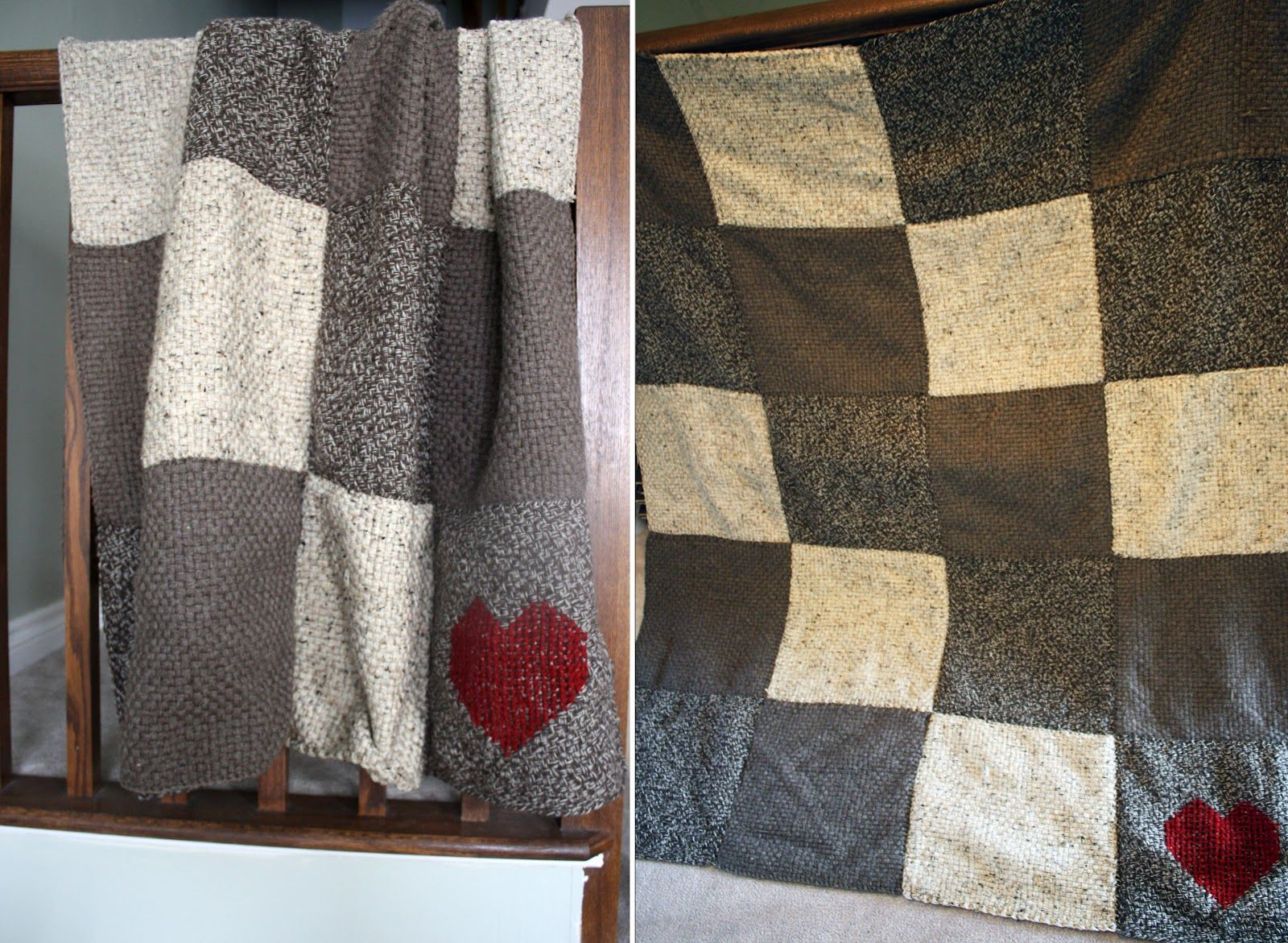 Blanket made with Martha Stewart Knit and Weave Loom Kit | Loom ...