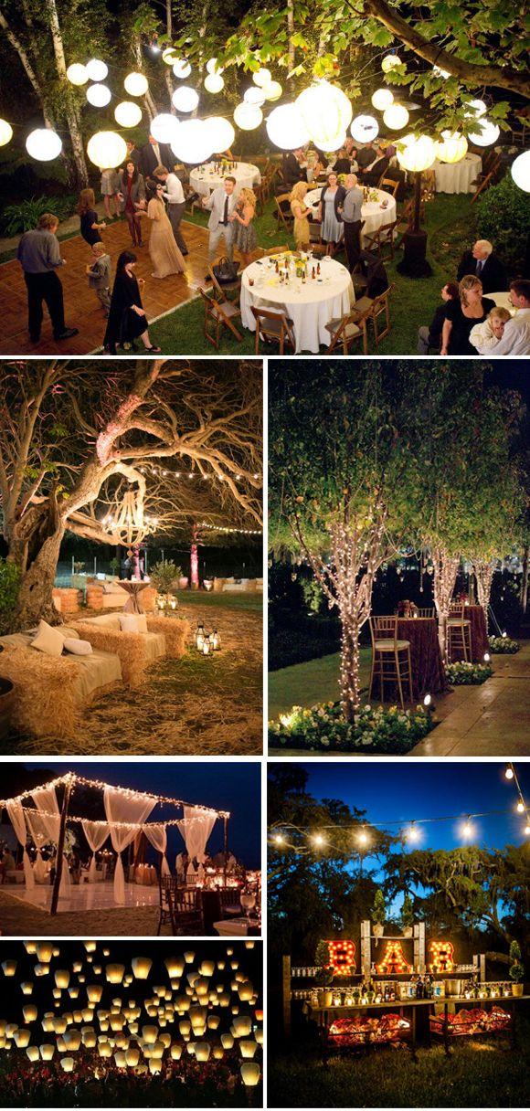 ideas para bodas al aire libre | decoración matrimonio | pinterest