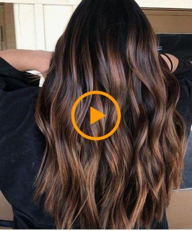 68 Incroyable caramel de cheveux bruns à la mode
