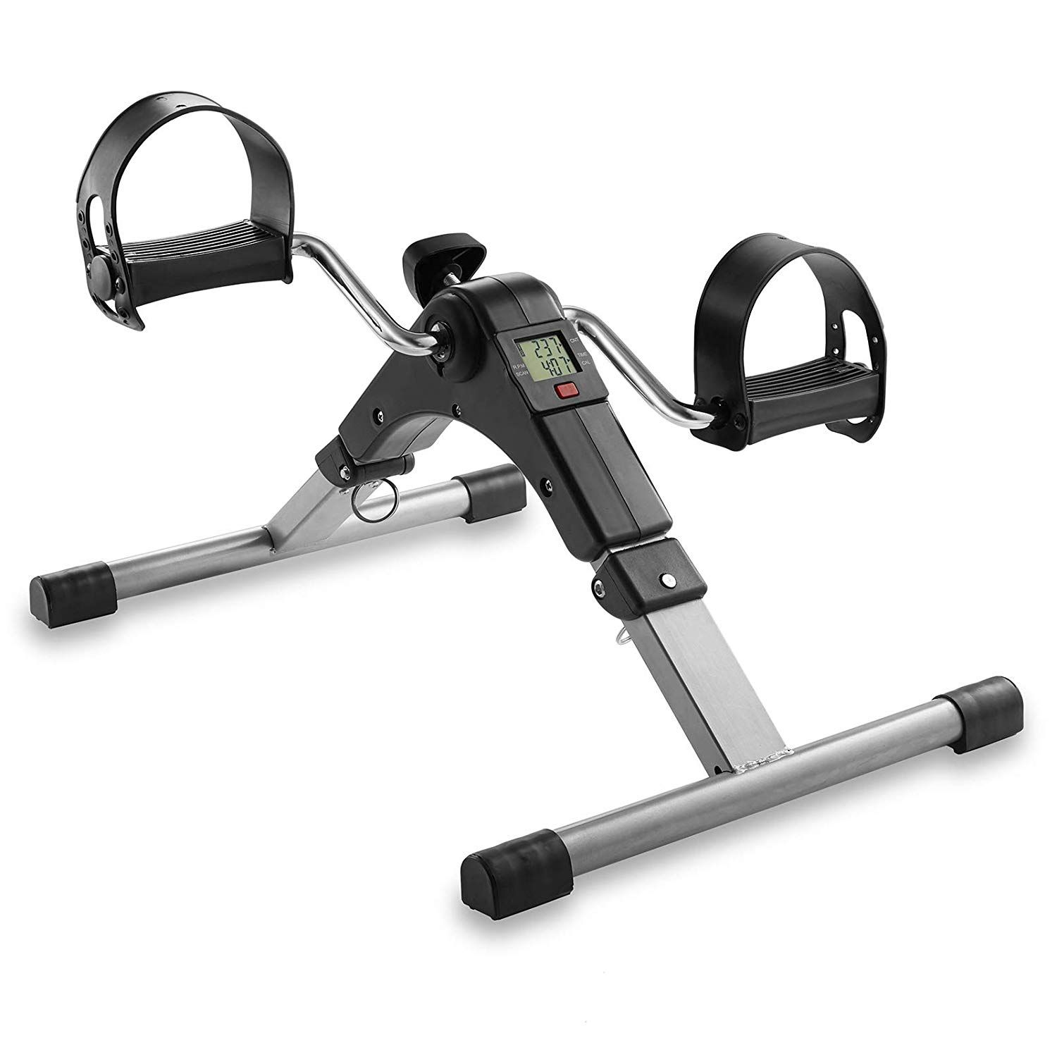 Node Fitness Foldable Under Desk Exercise Bike Pedal Exerciser Read More At The Image Link This Is An Affiliate Link Exercisebik Desk Workout Bike Pedals Bike