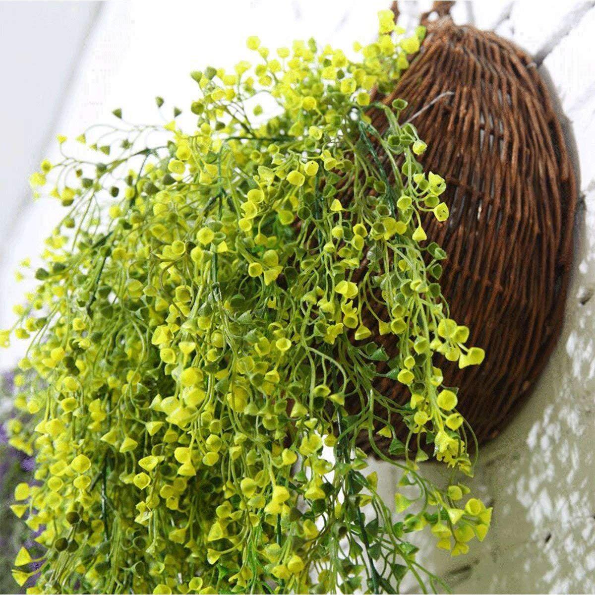 Motina handmade woven hanging basket natural