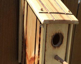 Items similar to Robin Cardinal Box - Bird House on Etsy