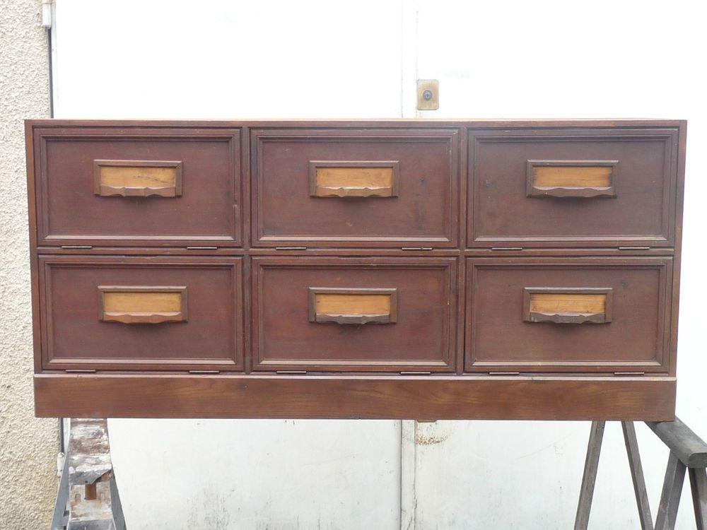 Magnifique meuble de métier ancien à clapets de notaire 180 euro