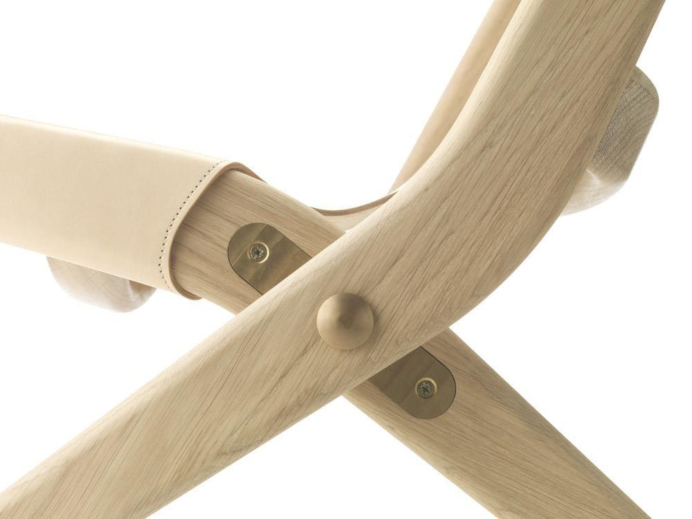 Saxe Klappstuhl Von Mogens Lassen Bei Conceptroom De Klappstuhl Coole Stuhle Lederstuhle