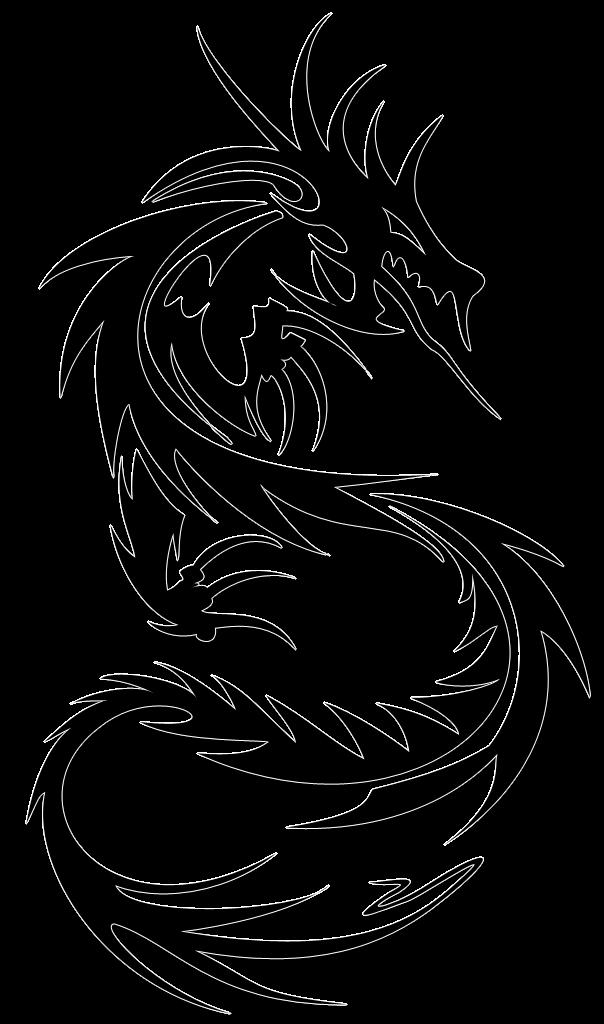 Transparent Tatoo Dragon Tattoos Png Transparent Dragon Tattoos Png Images Pluspng Tribal Dragon Tattoo Tribal Dragon Tattoos Dragon Tattoo Designs