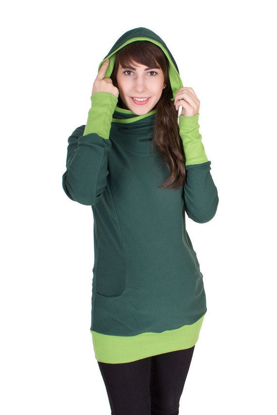 Viva la Mama   The 3-in-1 green, and long-sleeved