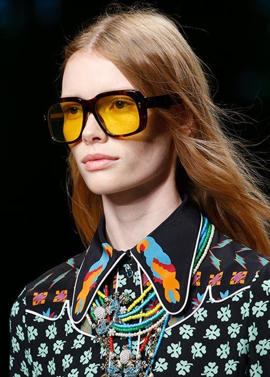 a986957937c0 Summer 2016 Retro Sunglasses Trends: Gucci #sunglasses #eyewear #trends