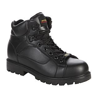 Boots, Black boots, Steel toe work boots