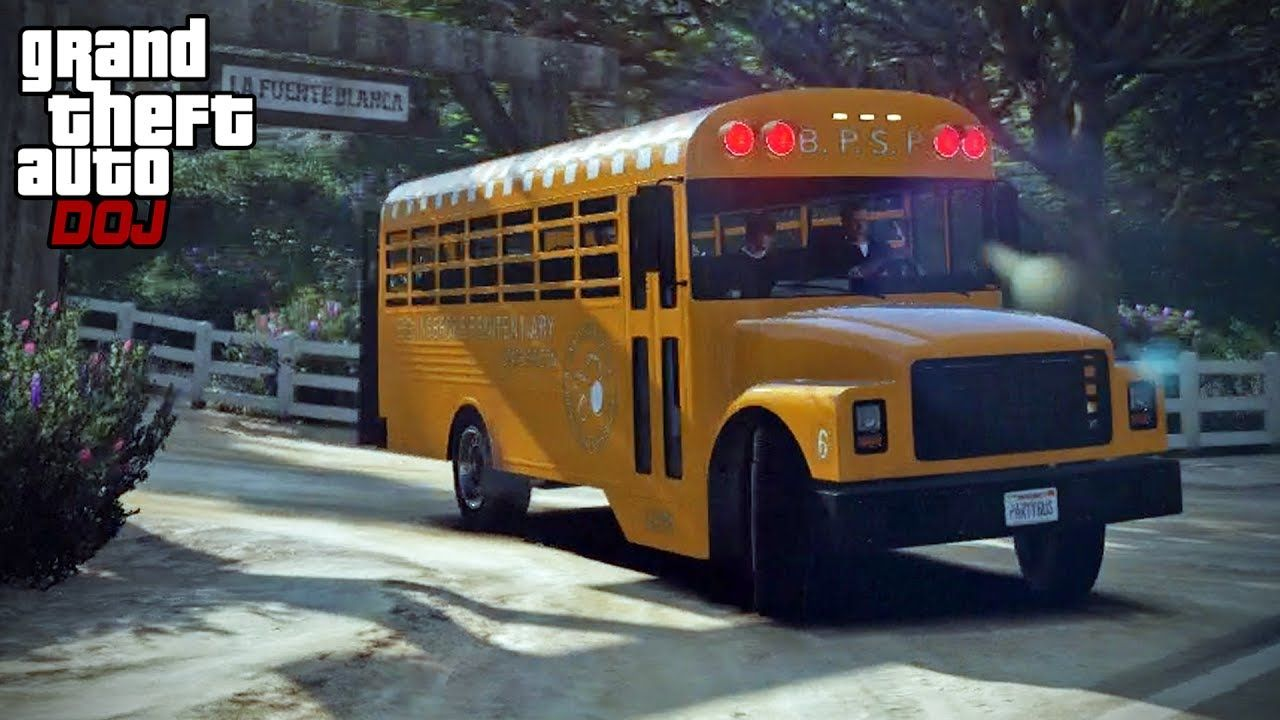 GTA 5 Roleplay - DOJ 199 - Yellow Jack Party Bus (Criminal) | LSPDFR