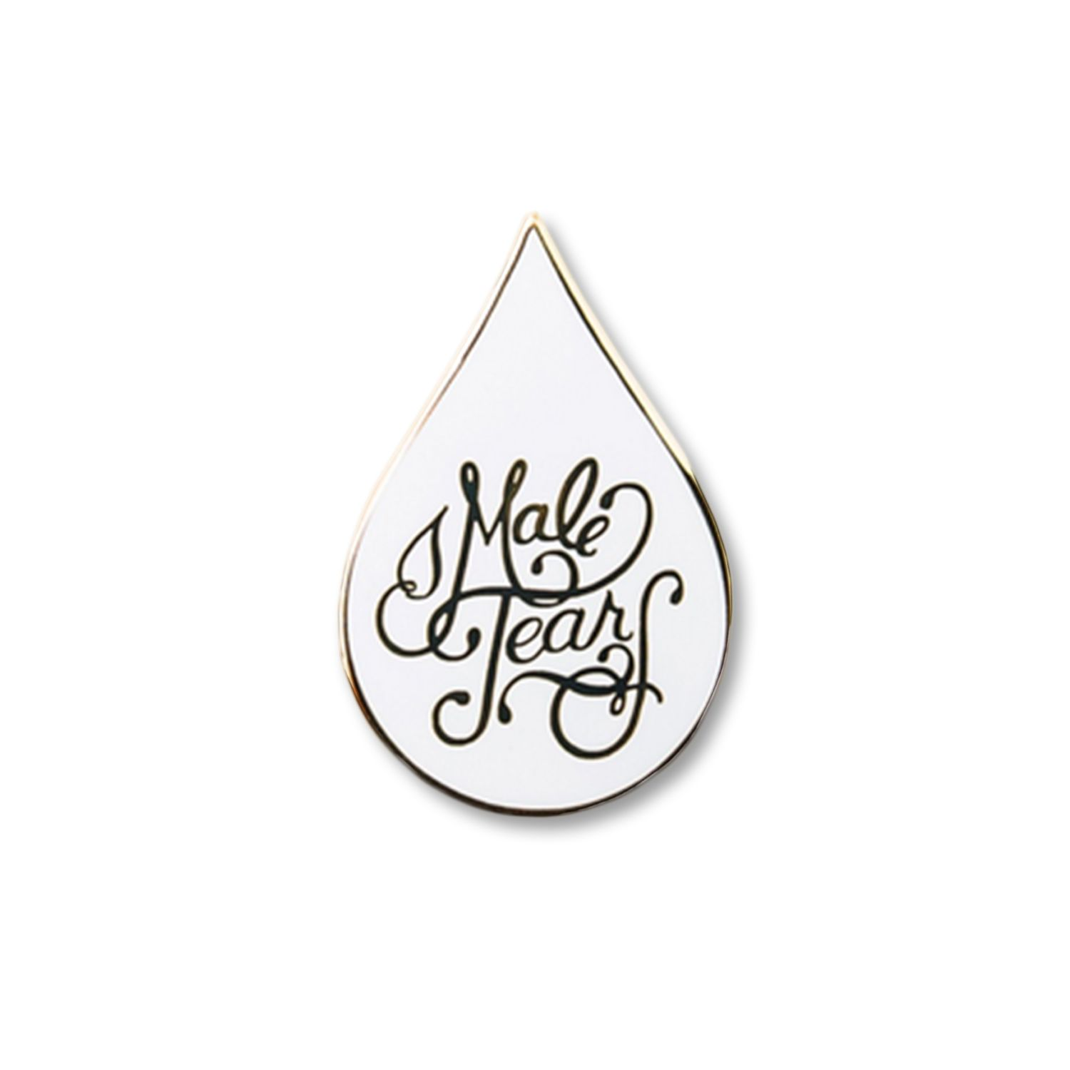 HOME :: Pins & Patches :: Lapel Pins :: Male Tears Enamel Pin