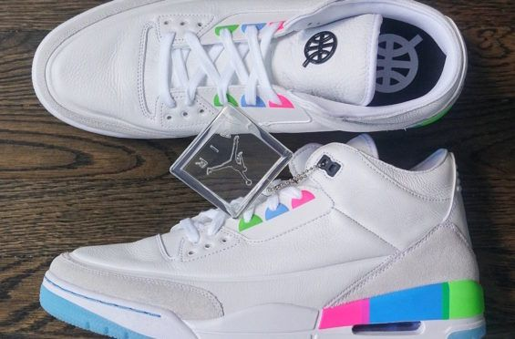 0499ca44b8ef The Air Jordan 3 Quai 54 Friends And Family Is A Clean Summer Style ...