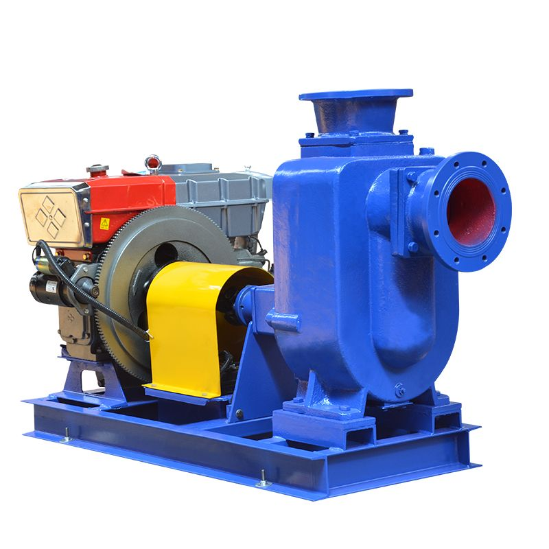 Diesel Engine Selfpriming Sewage Pump Fire fighting pumps