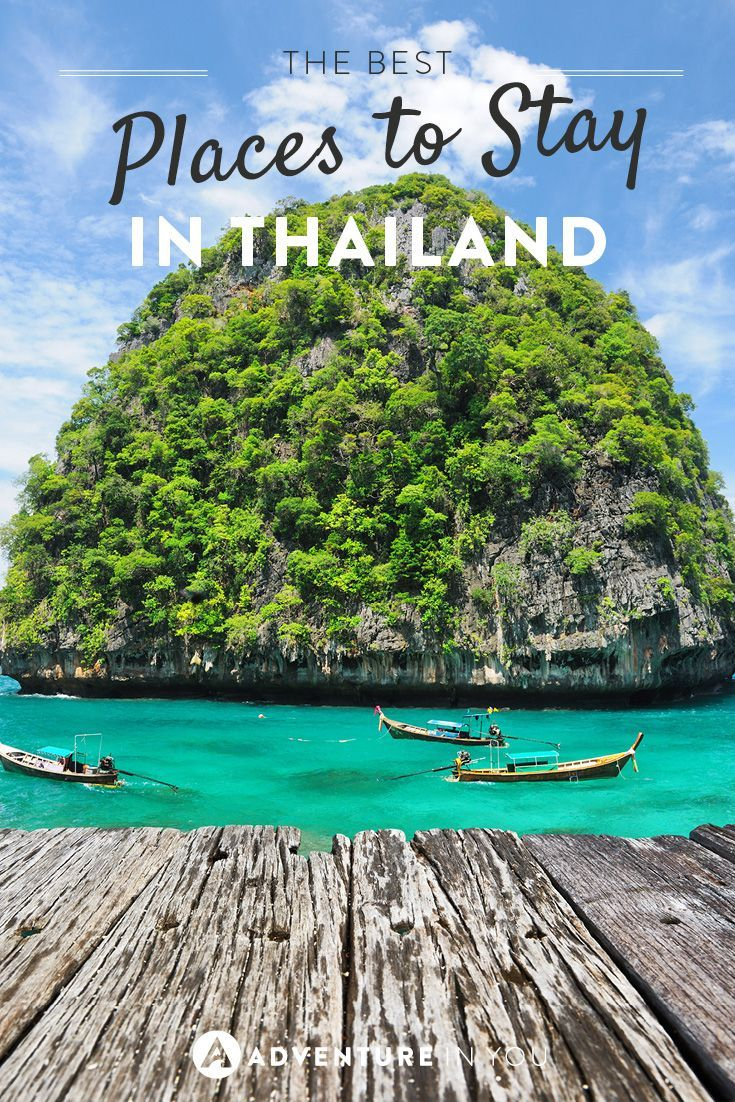 best places to stay in thailand | the best travel pins | pinterest