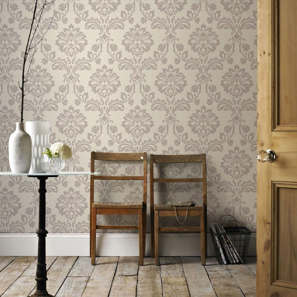 Graham & Brown Aurora Beige and Champagne Wallpaper20710
