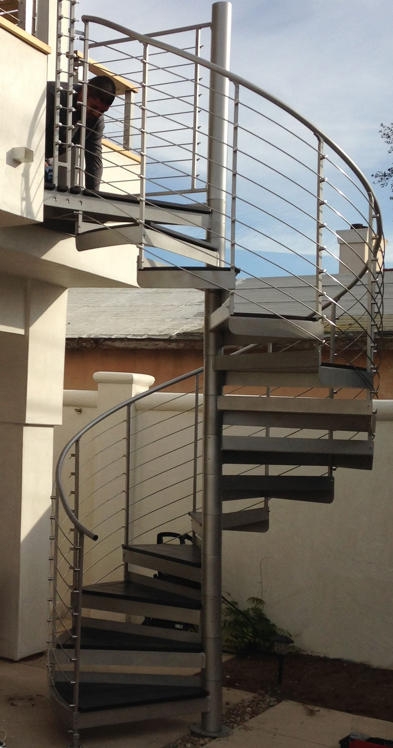 Metal Spiral Staircase Photo Gallery The Iron Shop Spiral Stairs | Iron Shop Spiral Stairs | Attic Loft | Victorian | Loft Staircase | Elk Grove | Staircase Kits