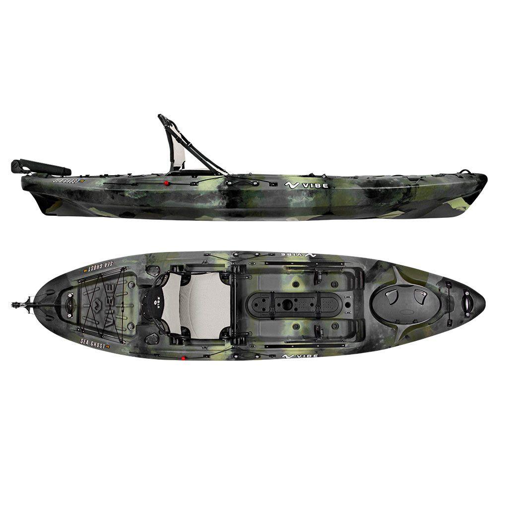 Vibe Sea Ghost 110 Kayak Angler Package Kayak fishing