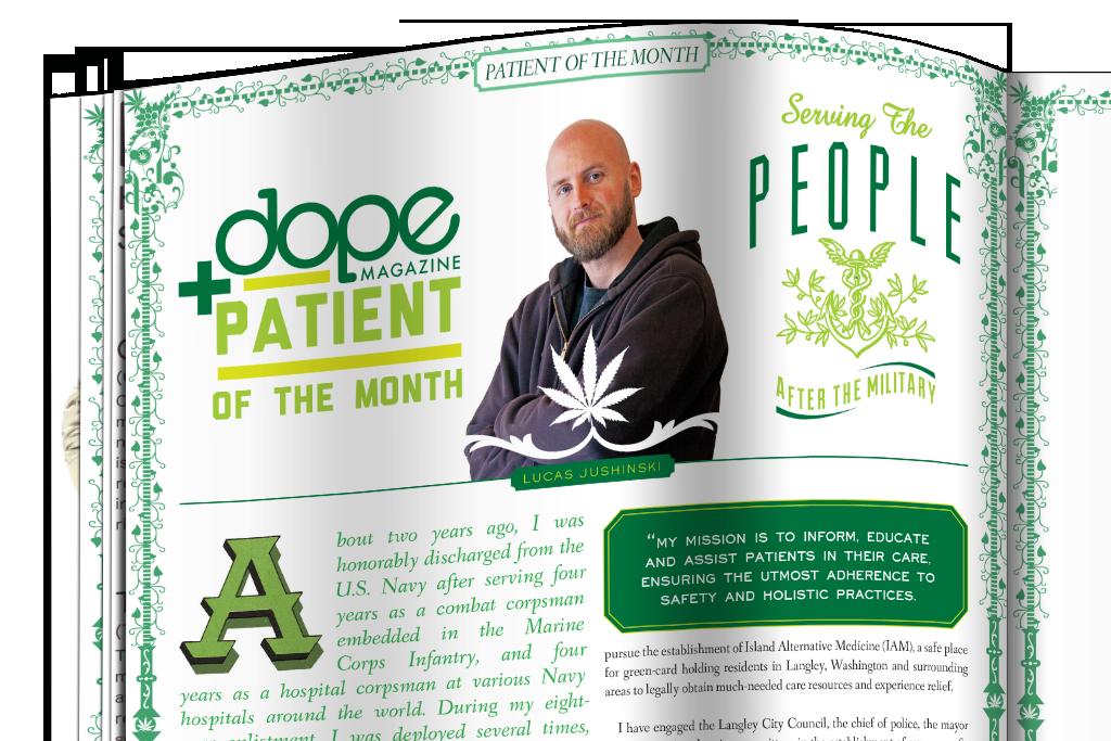 Dope Magazine editorial design