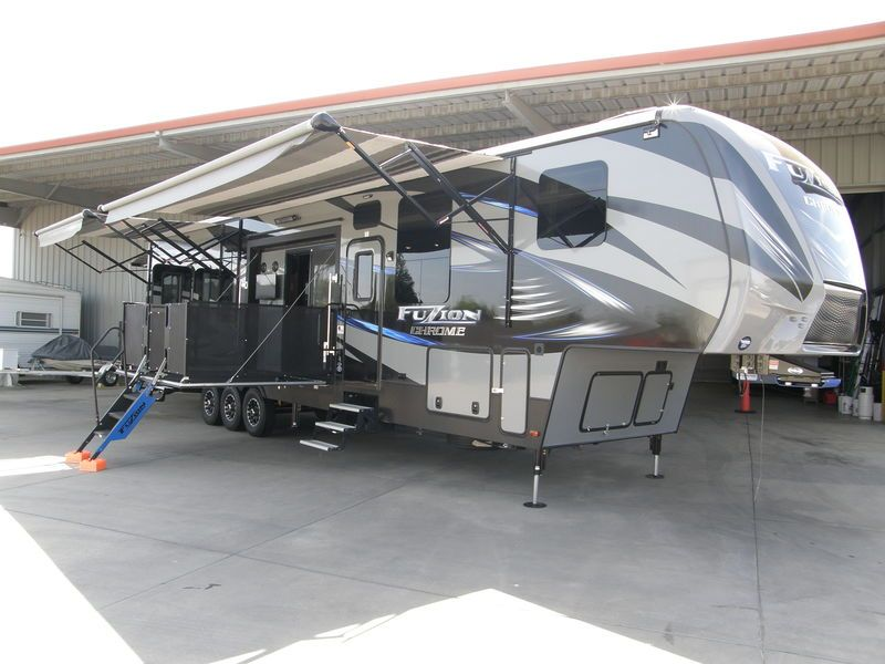 2016 Keystone Fuzion 420 Chrome For Sale Escalon Ca Rvt Com