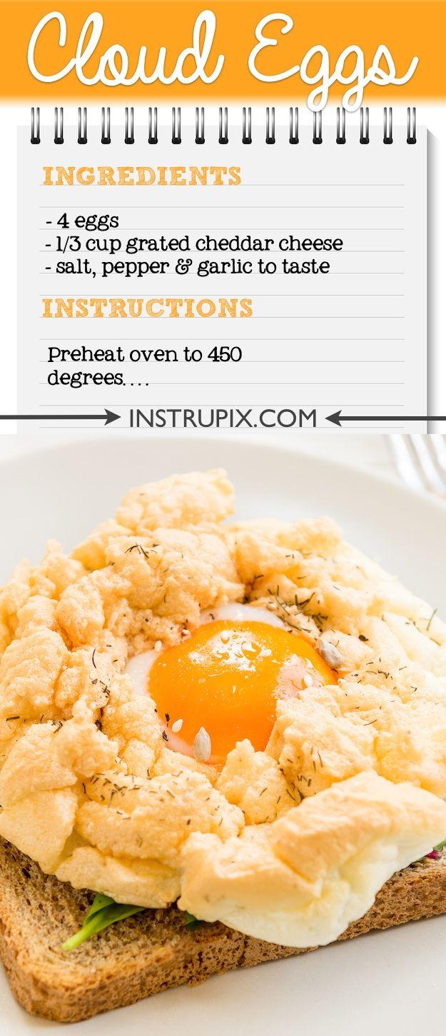 Easy Cloud Eggs