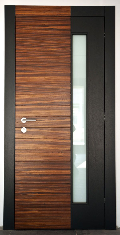 Solid Wooden Front Door Knossos Block95 Flush Door Design Wooden Front Doors Door Design Modern