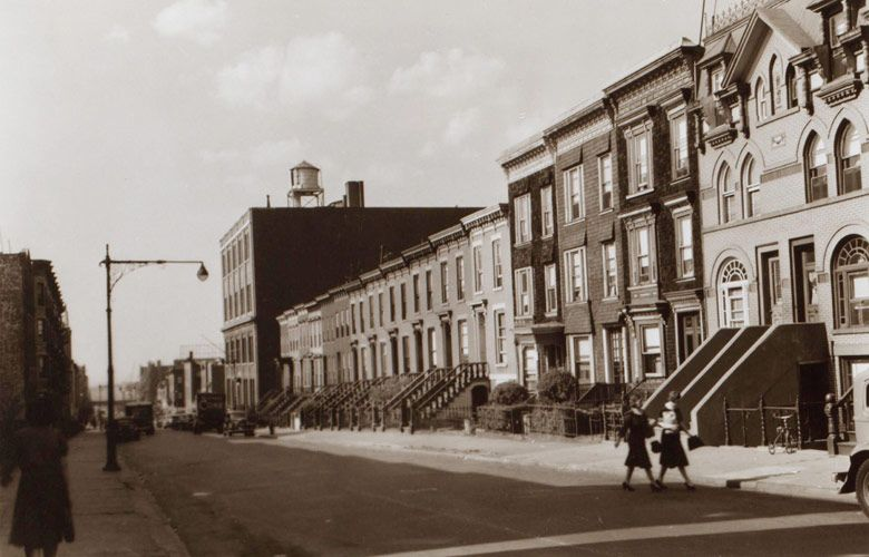 14th Street In The South Slope Of Brooklyn 1941 Nyc Pics Brooklyn Image Brooklyn