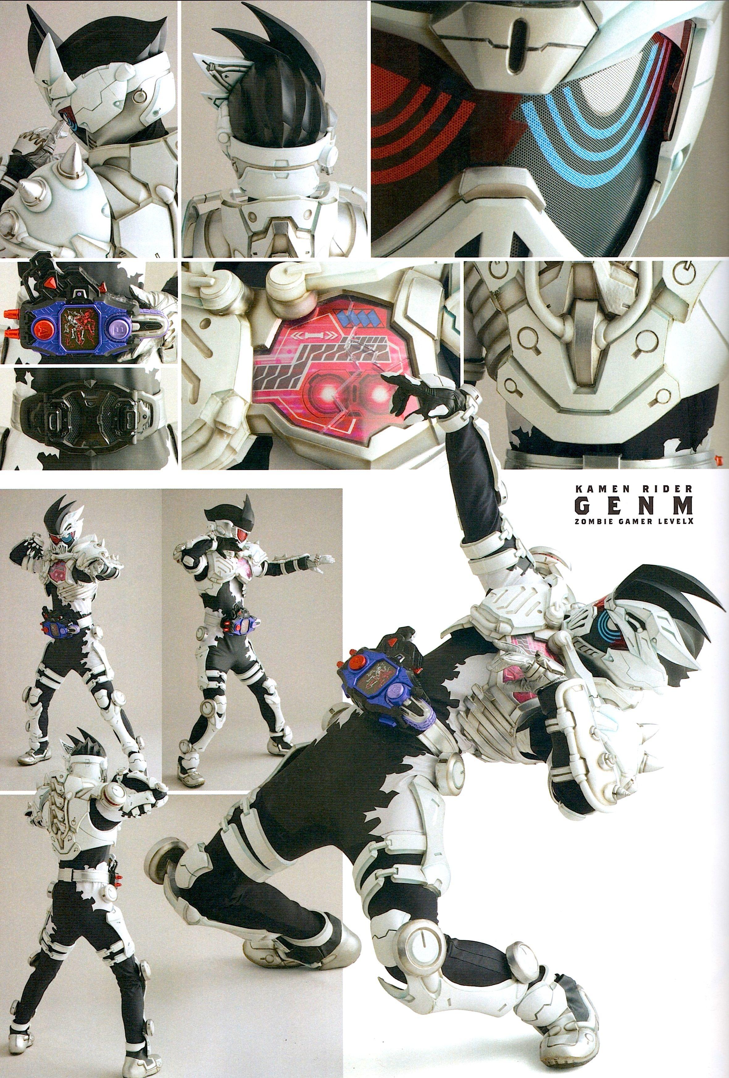 Kamen Rider Ex Aid Detail Of Heroes From Uchusen Magazine Gambar Seni Hiburan