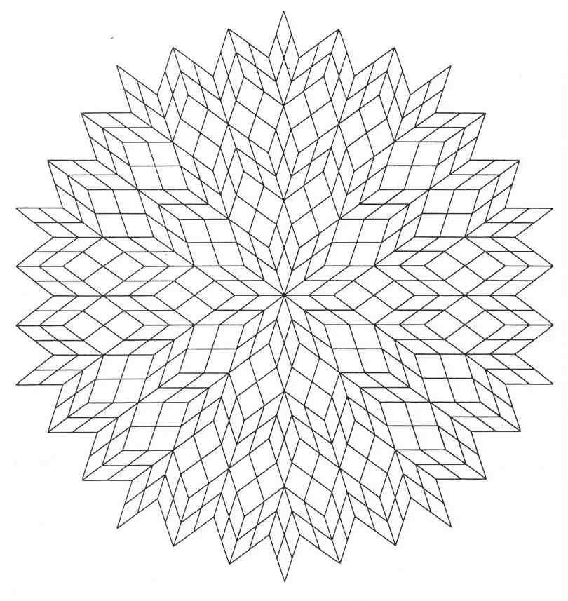 Mandalas Para Pintar: mandala para colorear de armonia | Dulce maria ...
