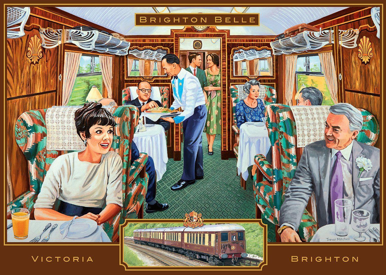 The Brighton Belle 1000 Teile Ravensburger Puzzle Online Kaufen Brighton Belle Puzzle Art