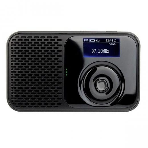 Dab Dab Fm Digital Radio Rechargeable Built In Battery Mp3 Speaker Portable Rds Digital Battery Dab Radio Digital Radio Battery Lights