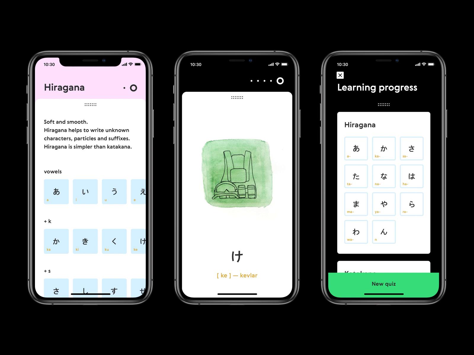 Sakana App / Custom Transitions by Yury Kirsanov Приложения