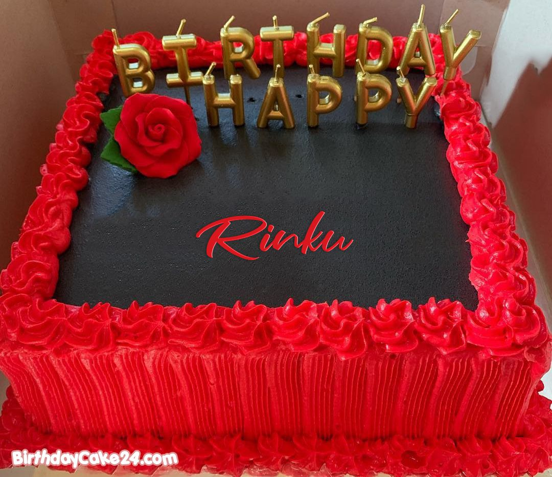 Stupendous Red Rose Birthday Cake By Name Generator With Images Birthday Personalised Birthday Cards Veneteletsinfo