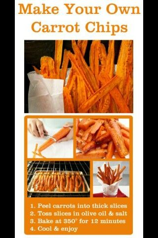 Carrot chipssss