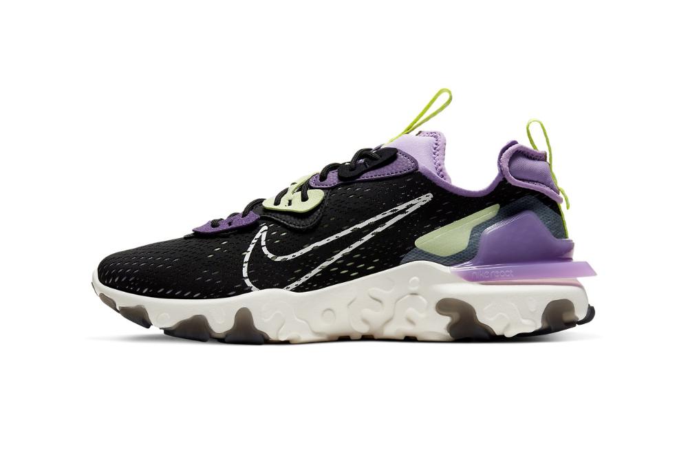 """2020的Nike React Vision """"Gravity Purple"""" Combines"""
